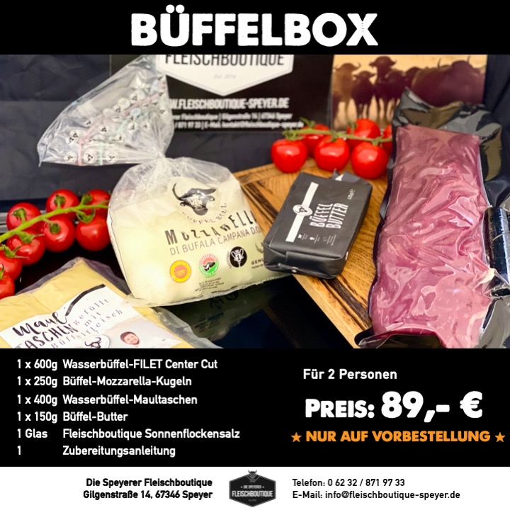 Büffel Grillbox